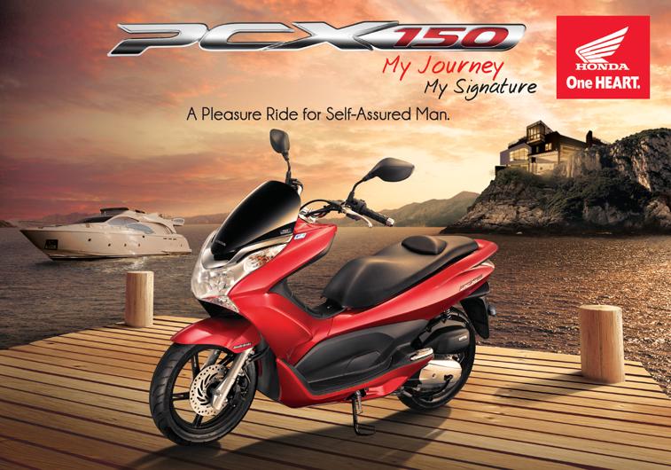 HONDA Luncurkan Honda PCX150