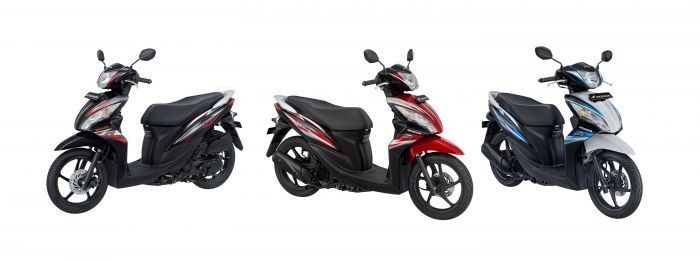 Honda Spacy Helm in PGM-FI Tampil Lebih Sporty