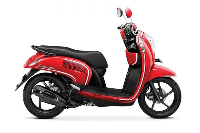 New Honda Scoopy-FI Hadir Dengan Tampilan dan Fitur Baru