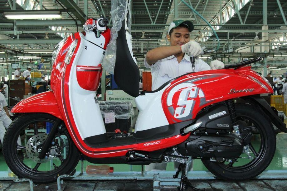 AHM Rilis New Honda Scoopy eSP