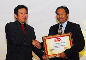 AHM Kembali Raih Penghargaan Corporate Image (IMAC) Award