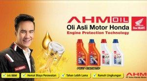 AHM Oil Dijamin Perfect Combination buat Motor Honda -