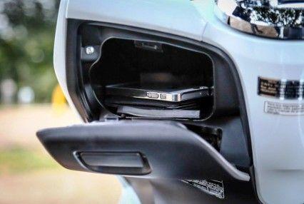 Menikmati Fitur Power Charger Di All New Honda PCX