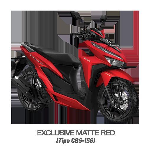 Honda Vario 150 - EXCLUSIVE MATTE RED