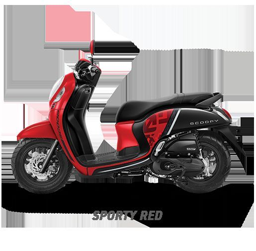 ALL New Scoopy Fashion / Sporty - sporty red