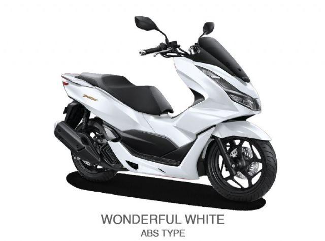 NEW HONDA PCX 160 ABS - WONDERFUL WHITE