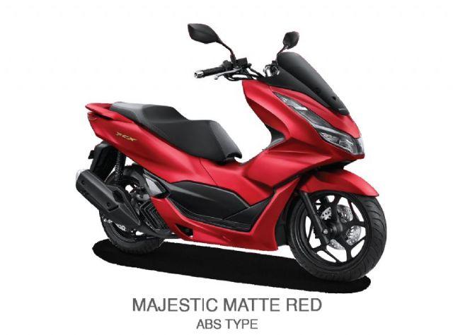 NEW HONDA PCX 160 ABS - MAJESTIC MATTE RED